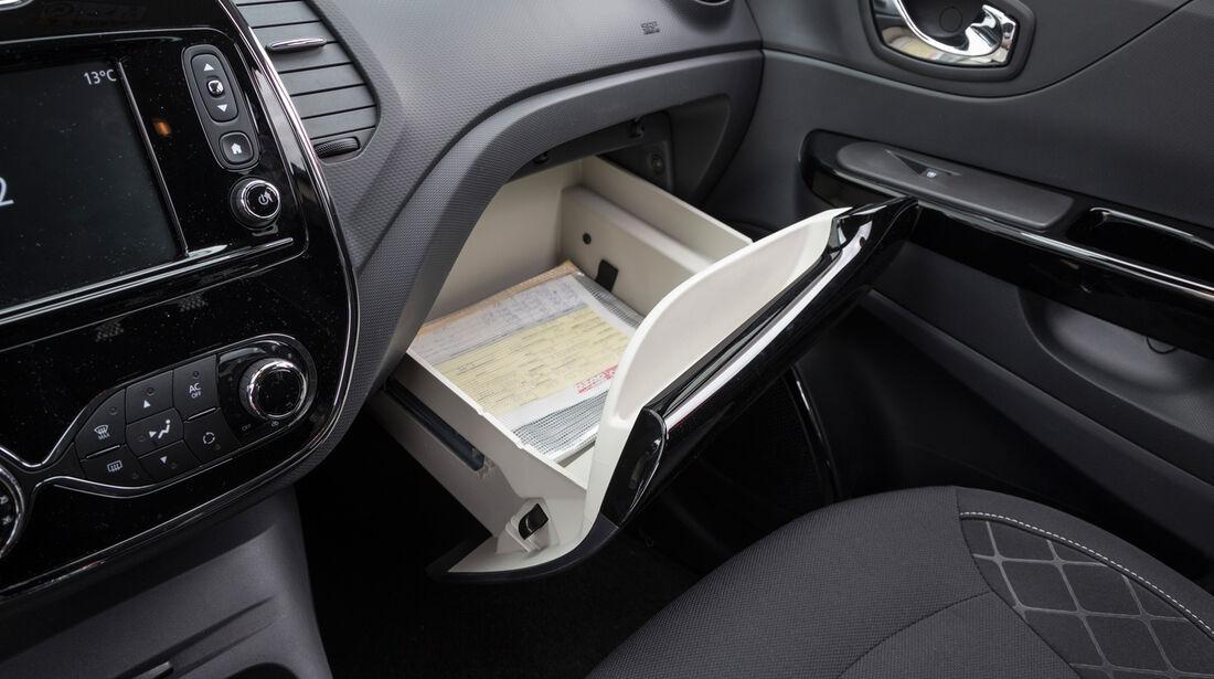 Renault Captur TCe 120, Handschuhfach