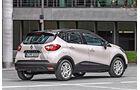 Renault Captur TCe 120, Heckansicht