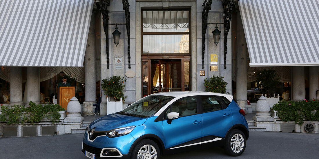 Renault Captur TCe 120, Seitenansicht