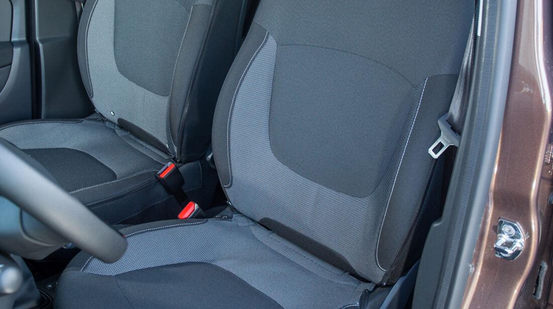 Renault Captur dCi 90, Fahrersitz