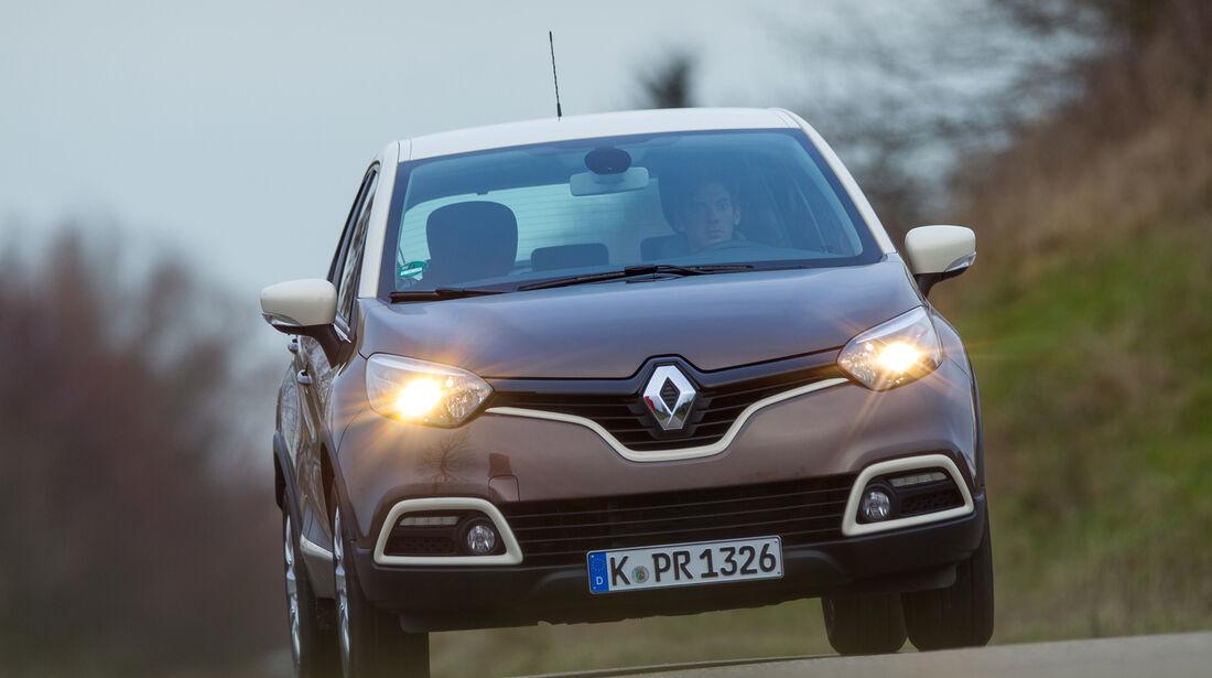 Renault Captur dCi 90, Frontansicht