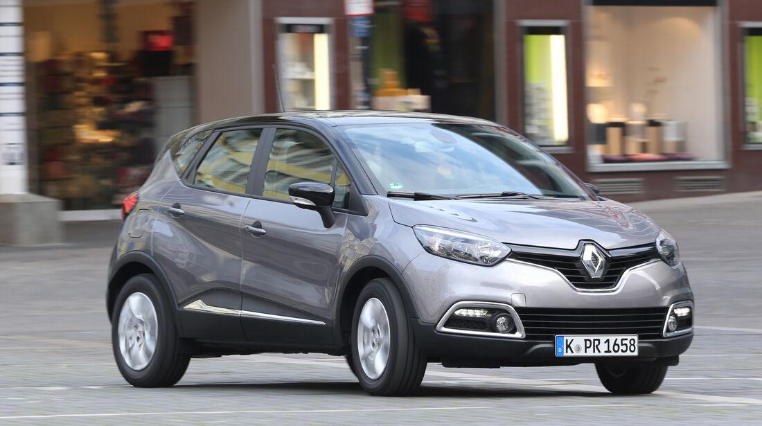 Renault Captur dCi 90, Seitenansicht