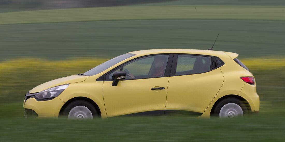 Renault Clio 1.2 16V 75, Seitenansicht