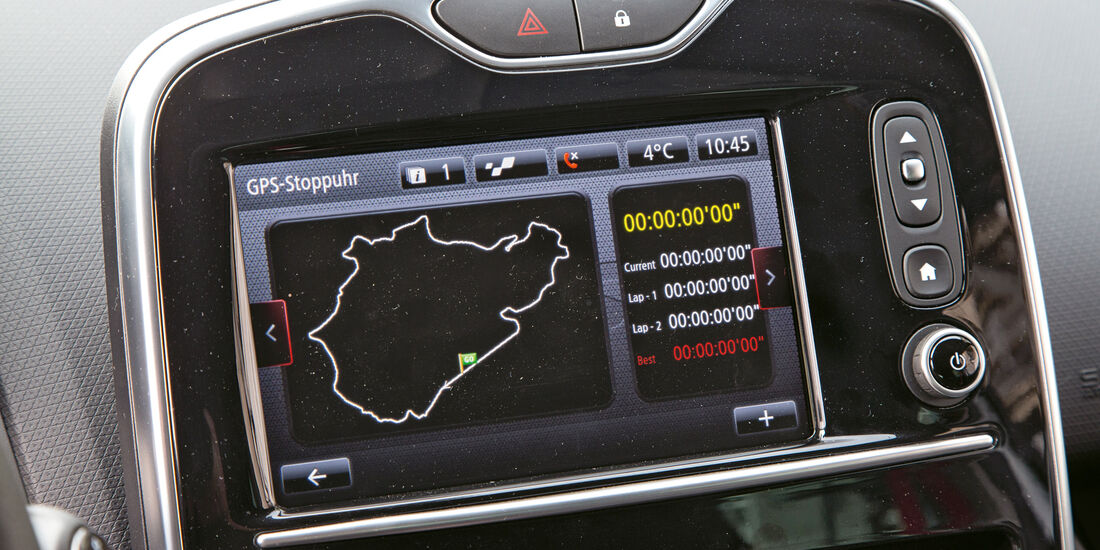 Renault Clio R.S. 220 Trophy, Monitor, Infotainment
