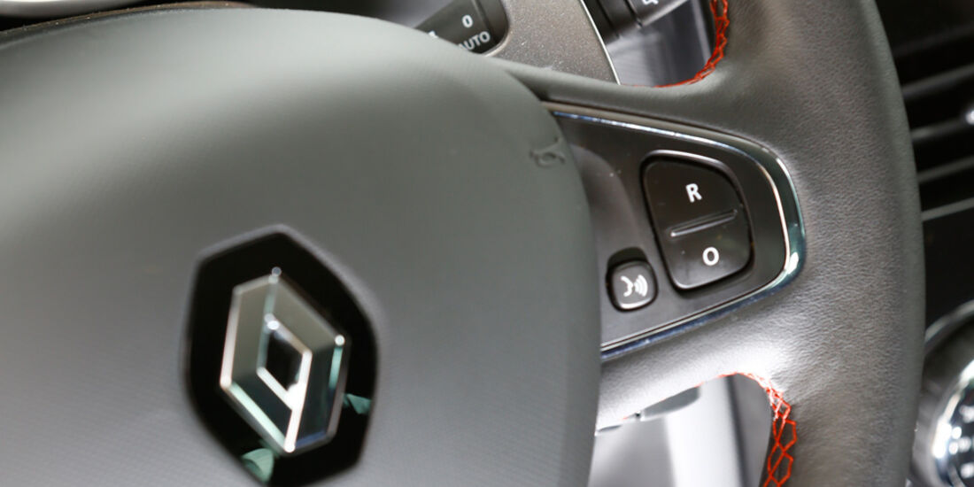 Renault Clio R.S., Lenkrad