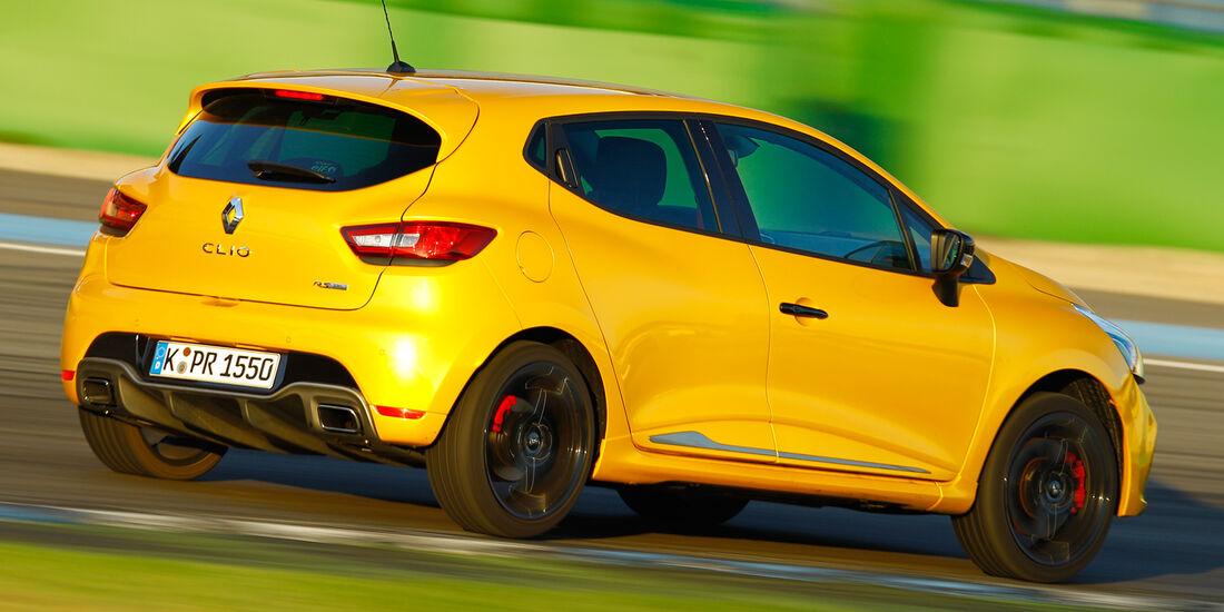 Renault Clio RS, Heckansicht