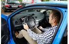 Renault Clio Sport, Cockpit, Fahrersicht
