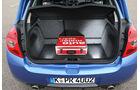 Renault Clio Sport Gordini, Kofferraum