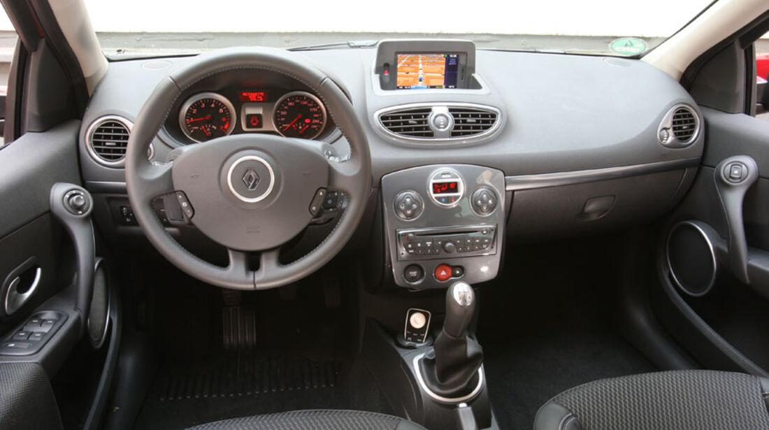 Renault Clio Tce, Cockpit