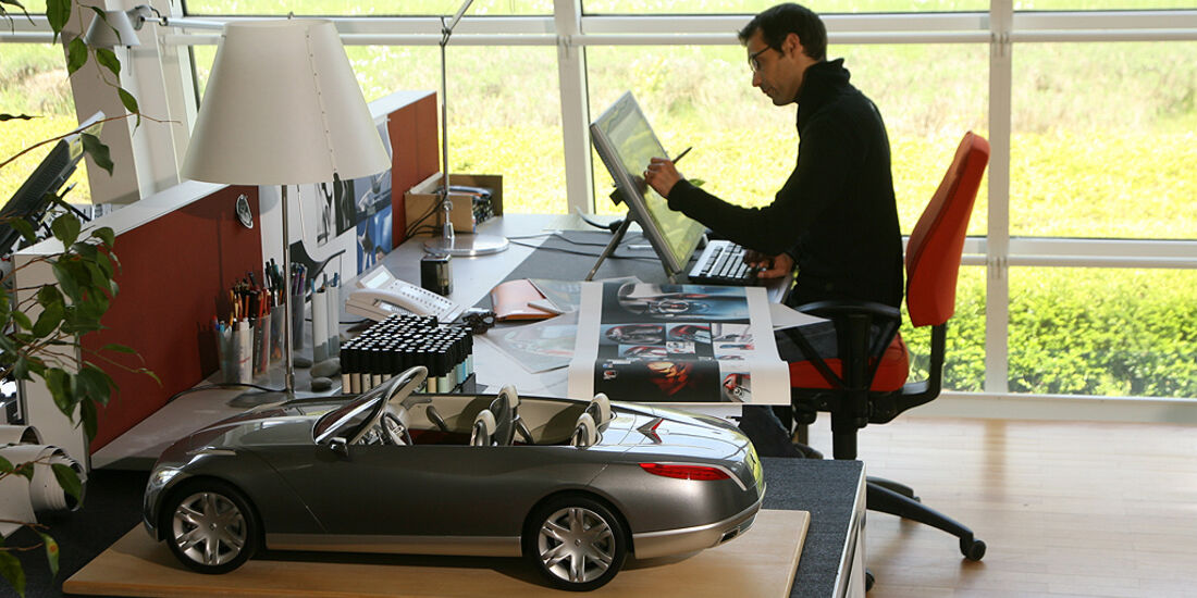 Renault-Designer Laurens van den Acker, Design-Studio