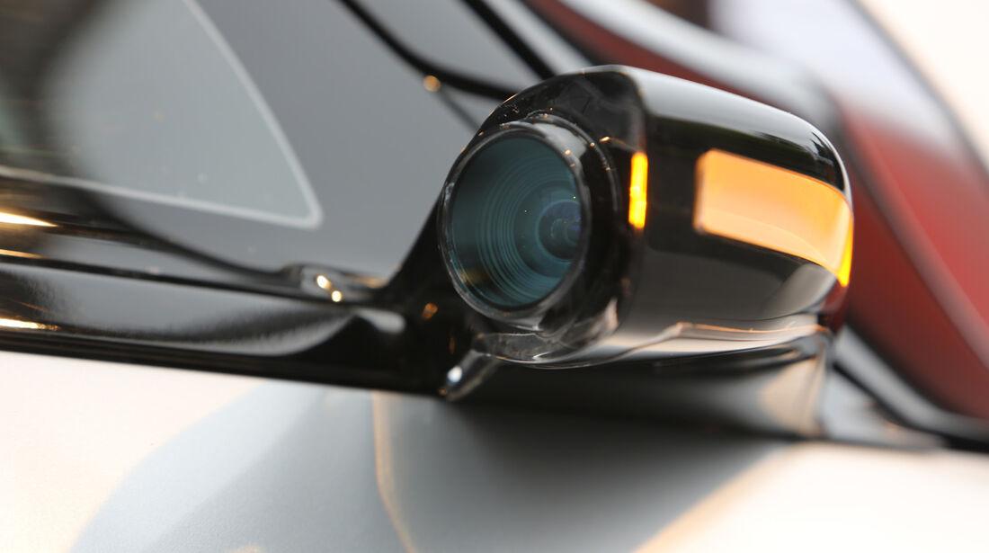 Renault Eolab, Fahrbericht, Außenspiegel
