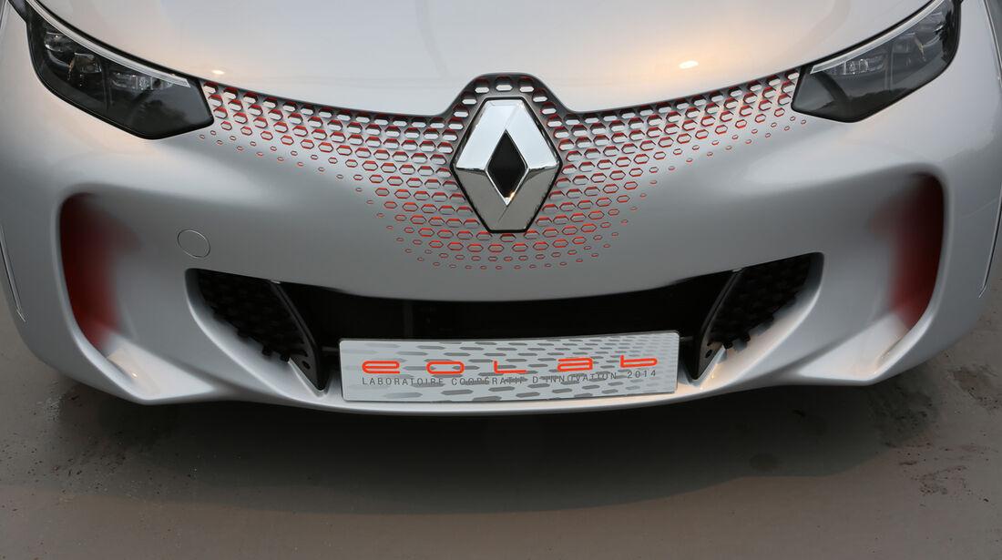 Renault Eolab, Fahrbericht, Front