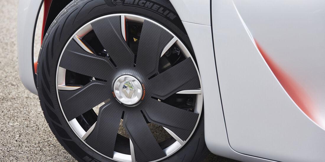 Renault Eolab, Fahrbericht, Reifen