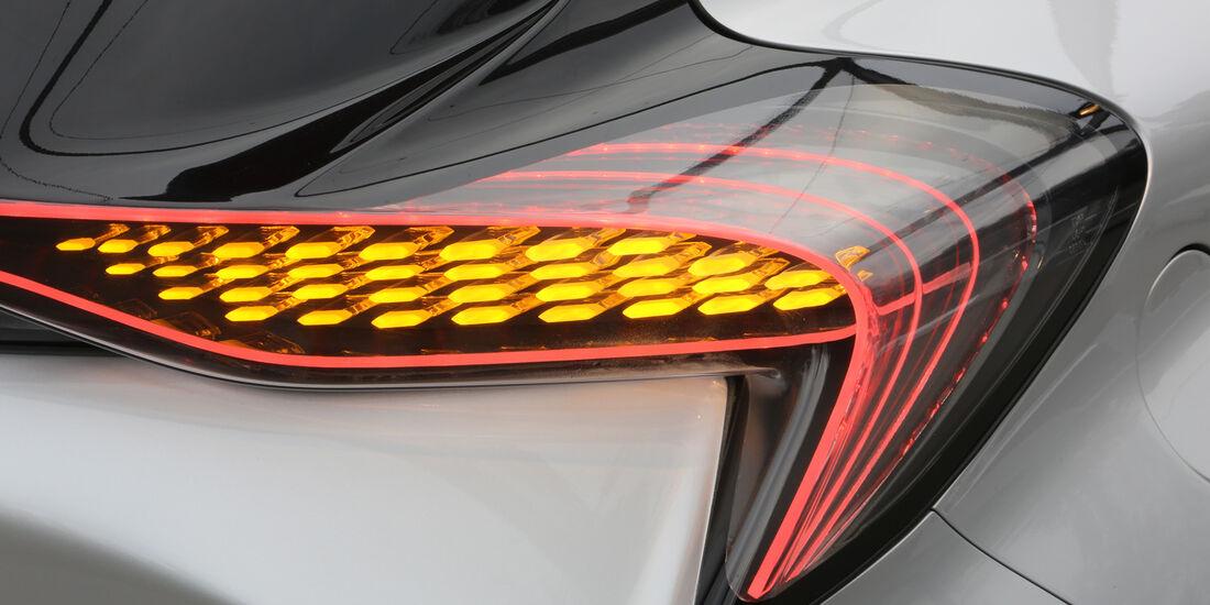 Renault Eolab, Fahrbericht, Rücklicht