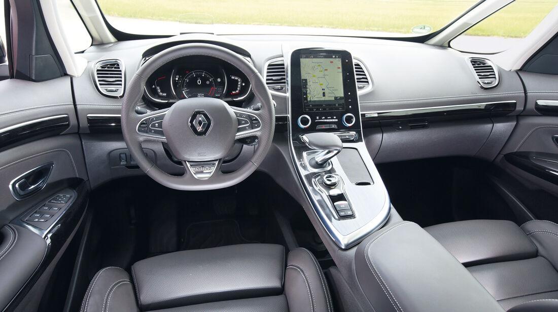 Renault Espace TCe 200, Cockpit
