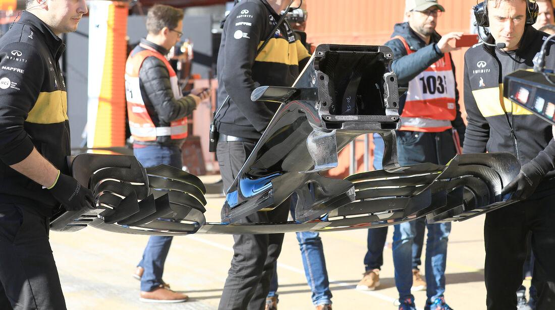 Renault - F1-Test - Barcelona - Tag 8 - 9. März 2018