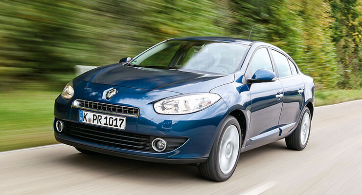 Renault Fluence Front