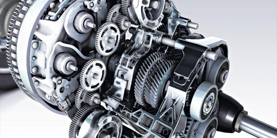 Renault Fluence, Getriebe