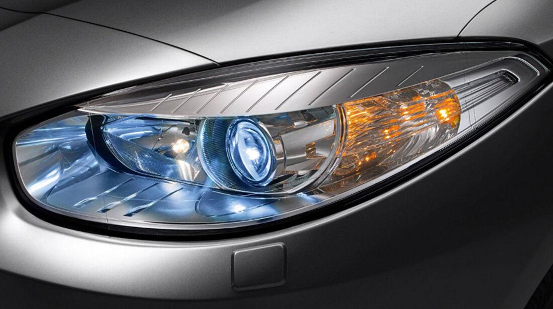 Renault Fluence, Scheinwerfer