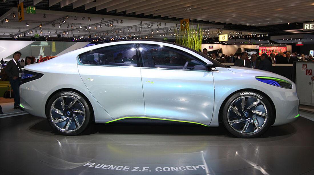 Renault Fluence Z.E. Concept IAA 2009