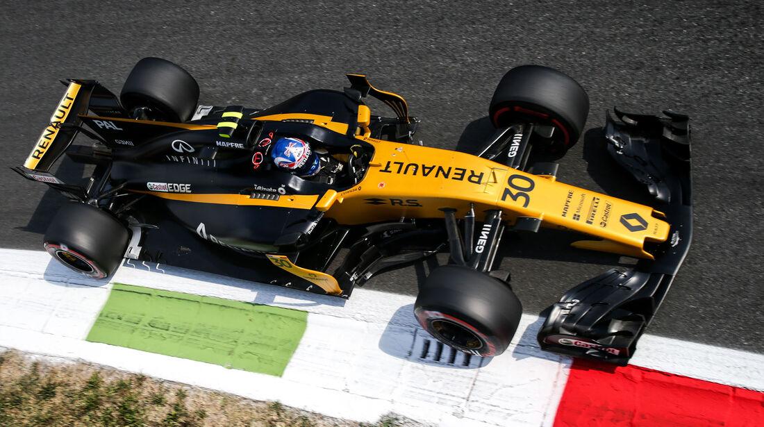 Renault - Formcheck - GP Italien 2017