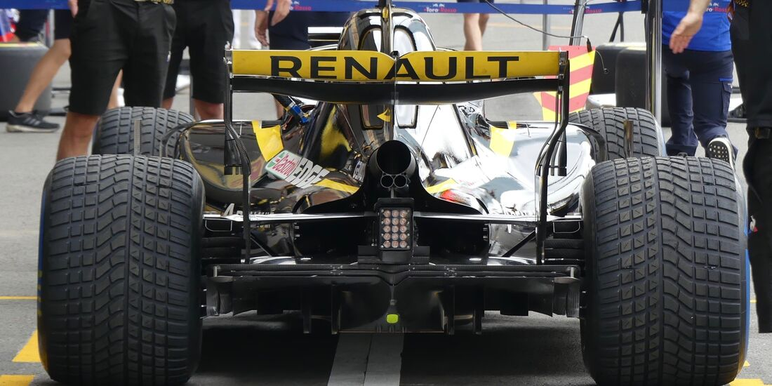 Renault - Formel 1 - GP Aserbaidschan - 28. April 2018