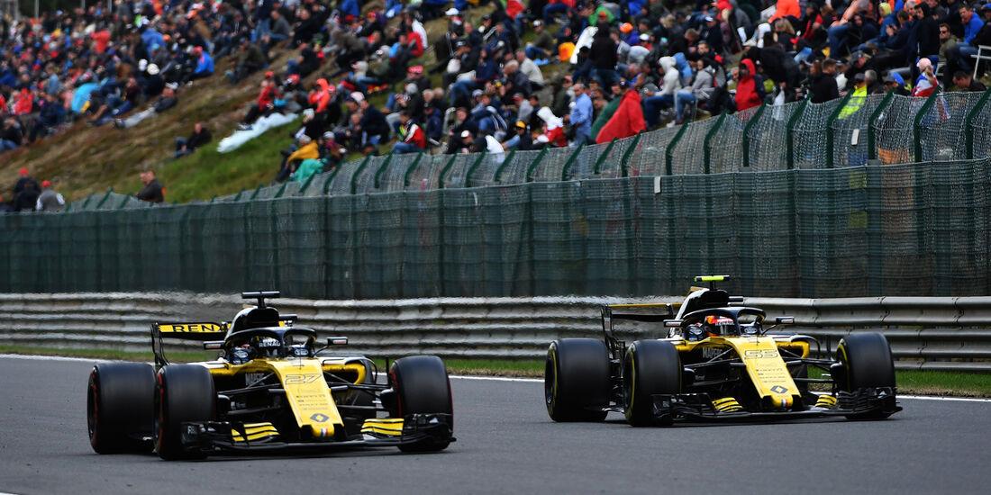 Renault - Formel 1 - GP Belgien 2018