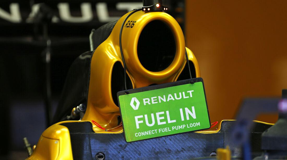 Renault - Formel 1 - GP Belgien - Spa-Francorchamps - 25. August 2016
