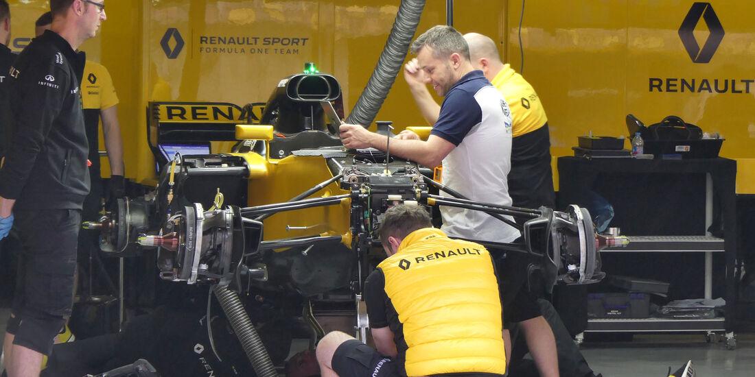 Renault - Formel 1 - GP China - Shanghai - 6.4.2017