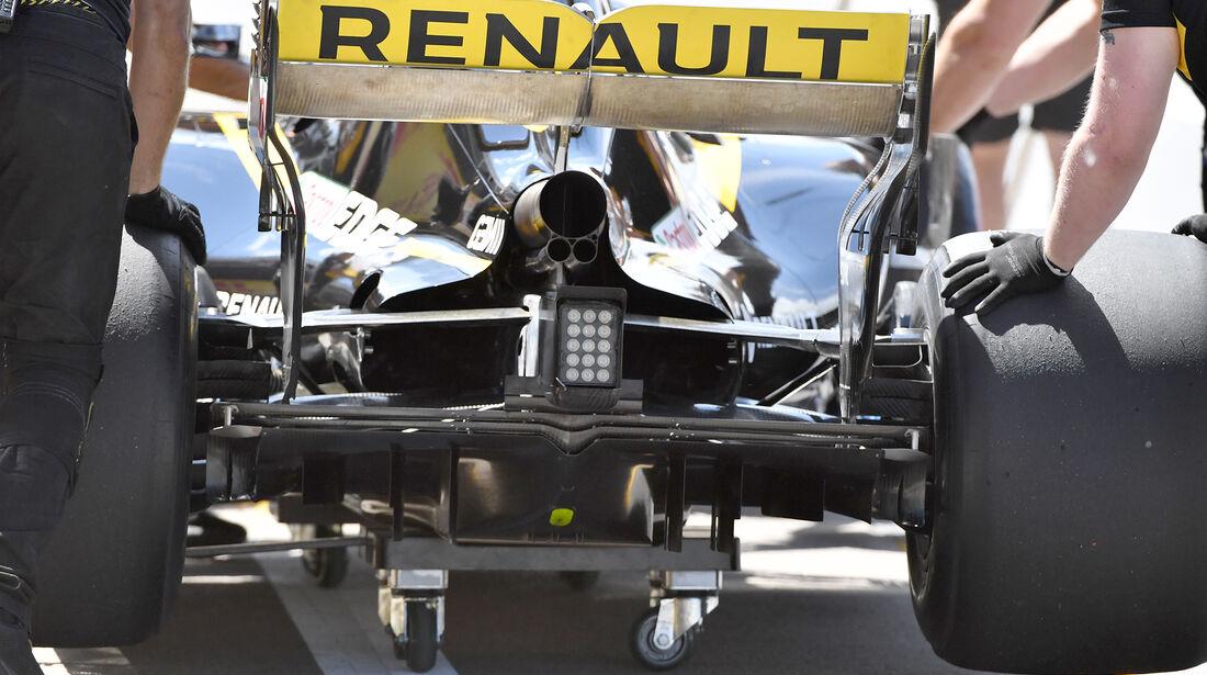 Renault - Formel 1 - GP Kanada - Montreal - 9. Juni 2018