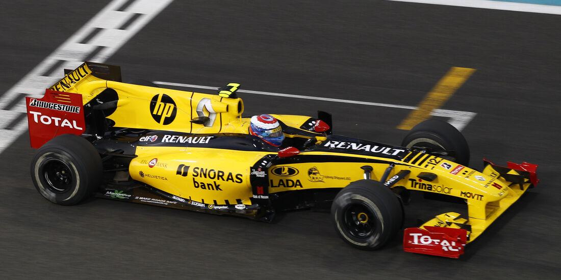 Renault - GP Abu Dhabi - 2010 - F1