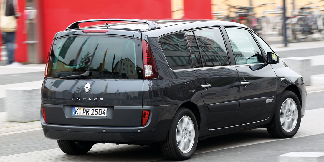 Renault Grand Espace dCi 175 FAP Initiale, Heckansicht