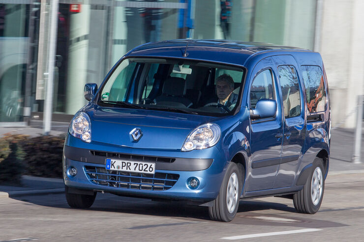 Renault Grand Kangoo dCi 110, Frontansicht