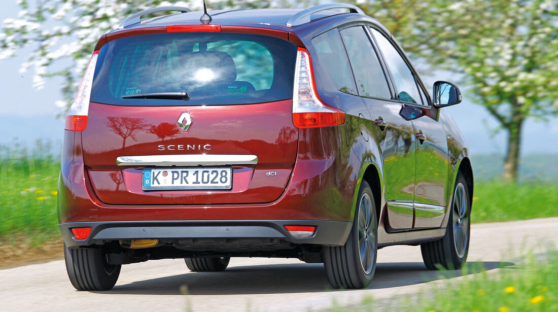 Renault Grand Scénic dCi 130, Heckansicht