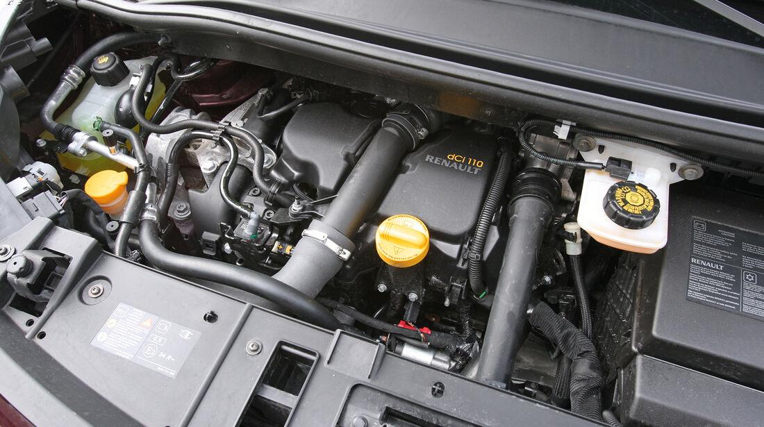 Renault Grand Scenic Dci 110 EFP, Motor