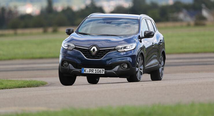 Renault Kadjar, Exterieur Front