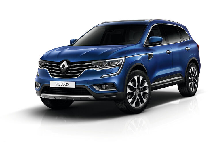 renault koleos fotos daten infos preise marktstart. Black Bedroom Furniture Sets. Home Design Ideas
