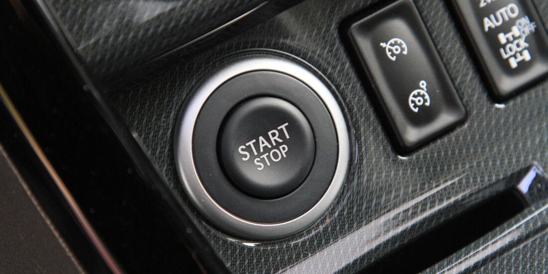 Renault Koleos dCi 175, Start-Stop Knopf