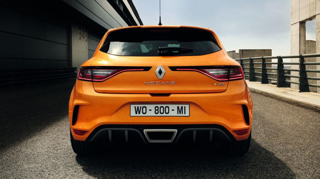 Renault Mégane R.S. 2017, Megane RS, Hot Hatchback, Kompaktsportwagen