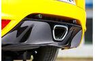 Renault Mégane RS, Auspuff, Endrohr