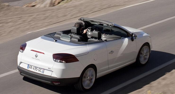 renault m gane dci 160 fap im fahrbericht coup und cabrio in einem auto motor und sport. Black Bedroom Furniture Sets. Home Design Ideas