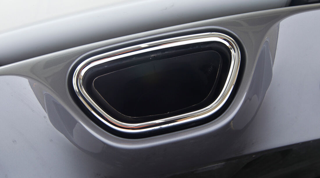 Renault Megane R.S., Auspuff, Endrohr