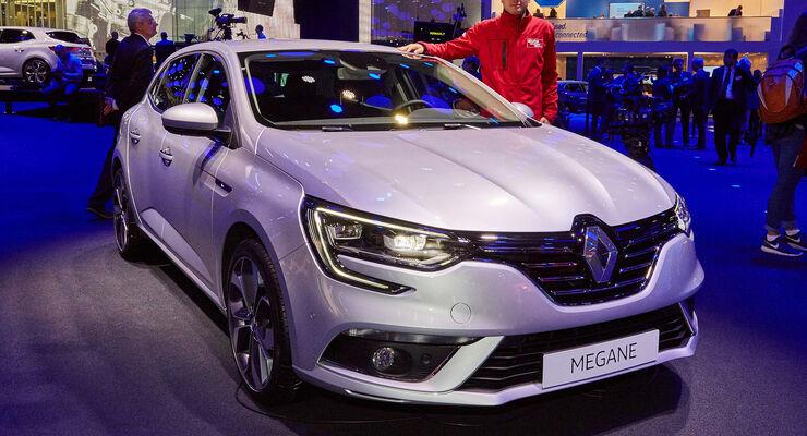 Renault Megane Sitzprobe
