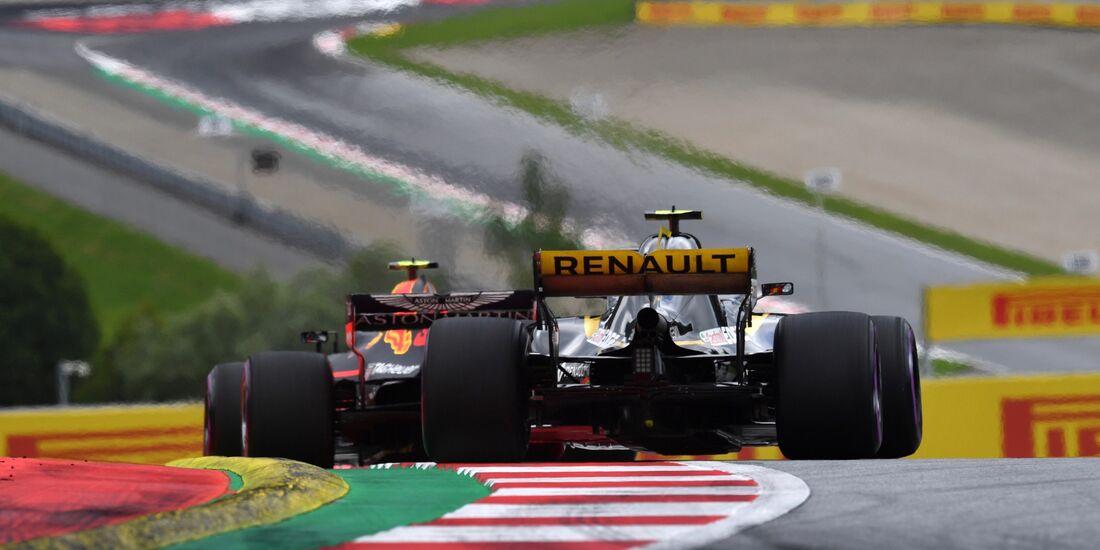 Renault - Red Bull - Formel 1 - GP Österreich - 29. Juni 2018