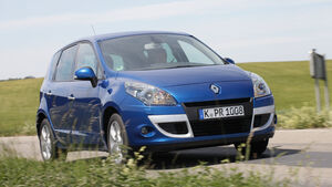 Renault Scenic dCi 110 FAP EDC, Frontansicht