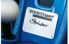 Renault Sport Spider, Emblem, Typenbezeichnung