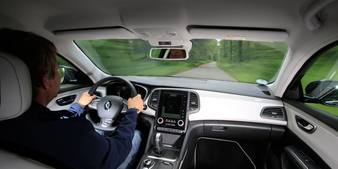 Renault Talisman Grandtour dCi 160, Cockpit