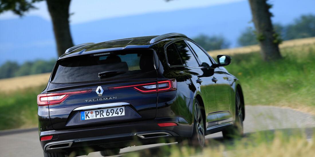 Renault Talisman Grandtour dCi 160, Heckansicht
