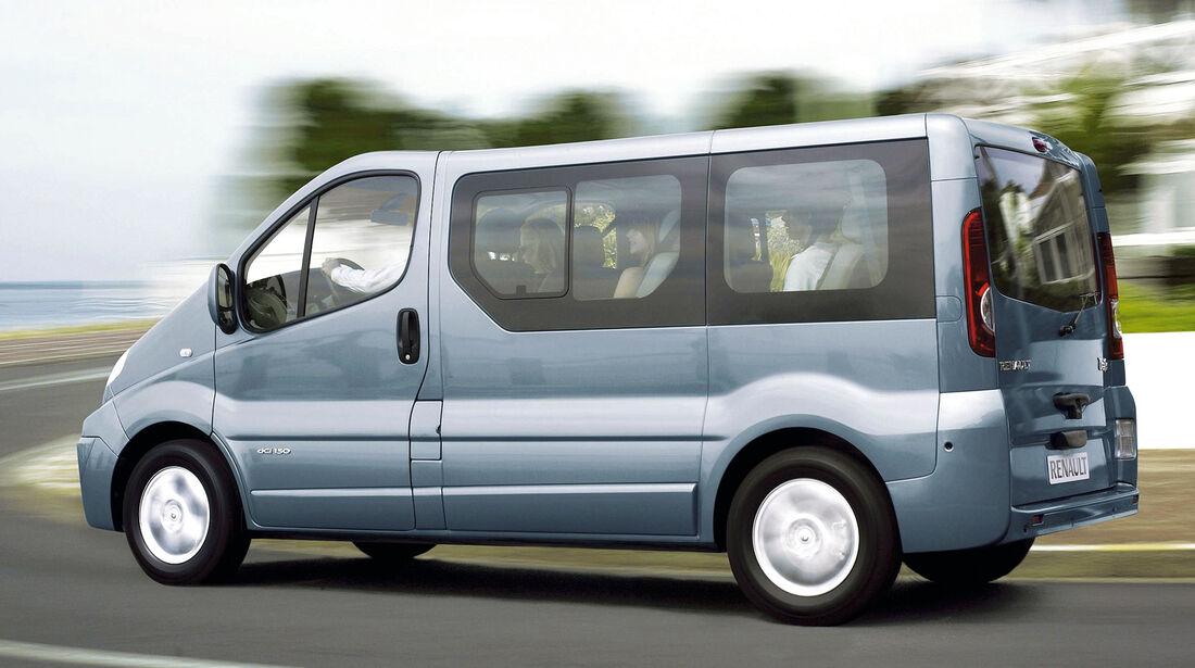 Renault Trafic, Seitenansicht