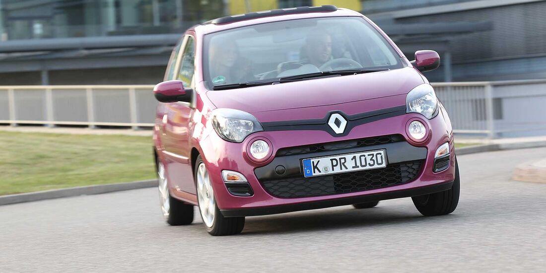 Renault Twingo 1.2, Frontansicht